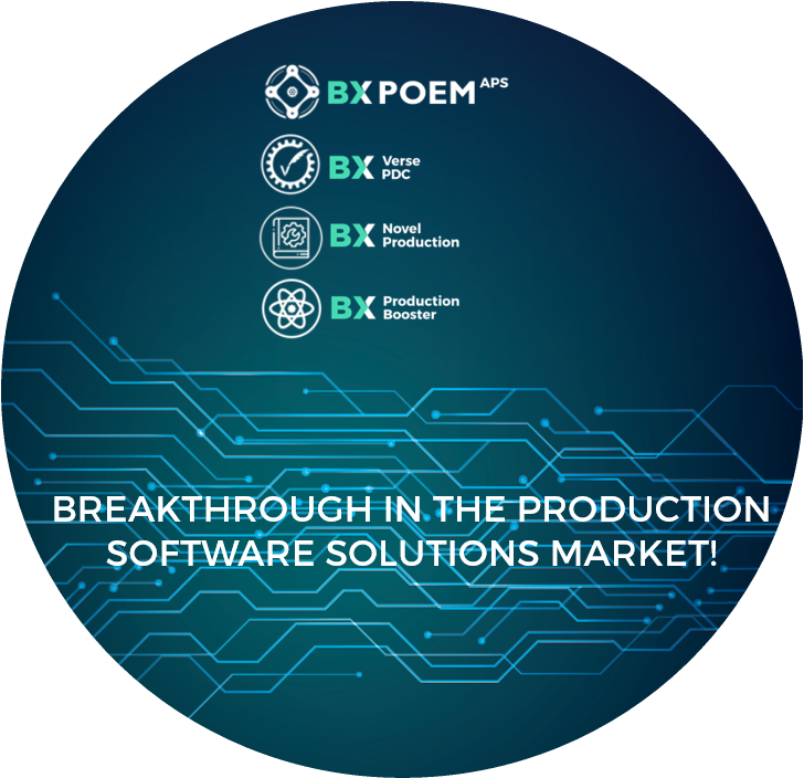 Breakthrough in the production software solutions market!